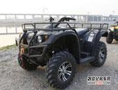 澎湃动力的诱惑 狮跑700CC四驱ATV试驾评测