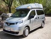 别致的日式露营车 实拍日产NV200旅居车