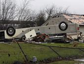 龙卷风袭击印第安纳州  房车企业受损严重