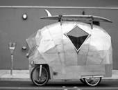 最牛三轮房车: 充一次电能跑16公里
