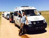 一路向北 德兴短轴房车奔走在内蒙古草原