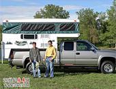美国拖挂式D型折叠房车欣赏