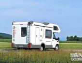 德国KNAUS雨燕2005款自行式C型房车欣赏