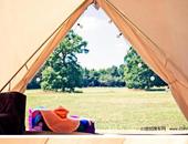 英国北约克郡山地型Katur露营地