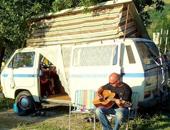 意大利阿布鲁佐山地型露营地Kokopelli
