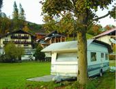走进奥地利圣沃夫岗湖畔房车营地
