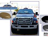 八方瑞杰最薄车载天线 提升房车旅行品质体验