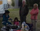 2015优发国际家族欧洲行 车队抵达立陶宛营地休整