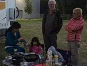 2015房车家族欧洲行 车队抵达立陶宛营地休整