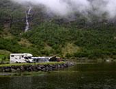 房车家族欧亚之旅 恍如世外桃源的挪威盖朗厄尔峡湾