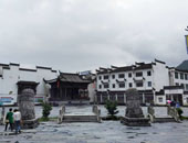 欧洲房车家族中国之旅 天下瓷都景德镇徽派建筑览婺源
