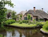 房车家族欧亚之旅 荷兰羊角村令人艳羡的田园牧歌生活