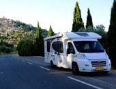 房车家族欧亚之旅 改道法国普罗旺斯与车友会师