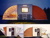 Urban campsite 酷似小型公寓的新型房车设计