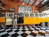世界上第一辆加长版大众露营车 可容纳20人