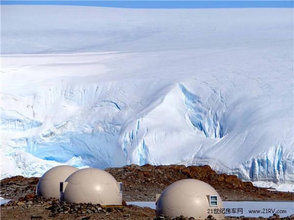 冰雪奇缘 南极洲豪华露营地WhiteDesert