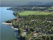 德国巴伐利亚州五星级湖畔型露营地Strandcamping