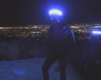 外星人专用? 180度无死角户外优发国际LED灯