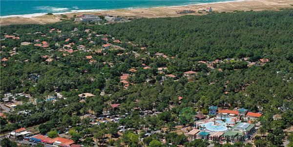 法国拉贝娜海五星级海滨型露营地Sylvamar