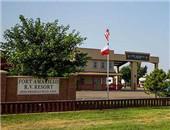 德州风情 美国德克萨斯州露营地Fort Amarillo