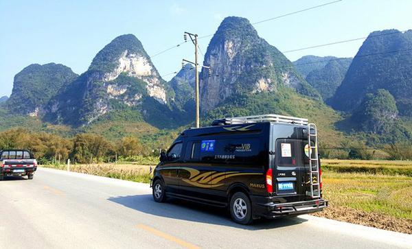自驾上汽大通V80走遍中国 广西省内任我行
