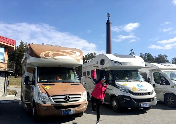 2017亚欧之旅 一脚踏两洲 过了叶卡捷琳堡便是欧洲