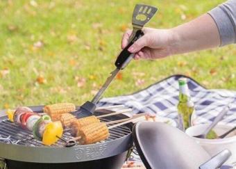 Barbecue7合1户外烤肉工具组 野外优发国际专用户外装备
