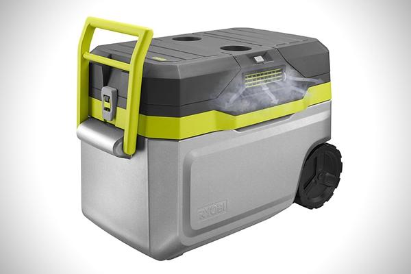 冰箱还兼具空调功能?日本 Ryobi 可移动车载冰箱