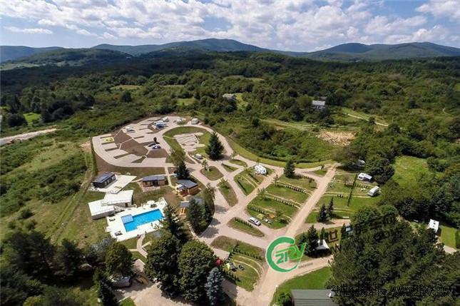 如梦似幻 风景如画 克罗地亚露营地Turist Grabovac