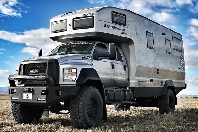高达150万美元 EarthRoamer越野房车发布