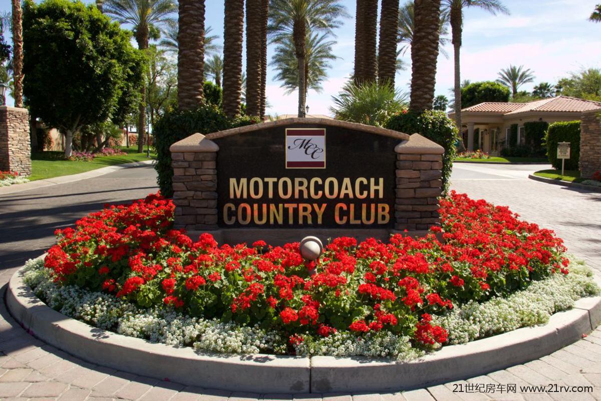 新混合经营模式 美国加州露营地Motorcoach欣赏