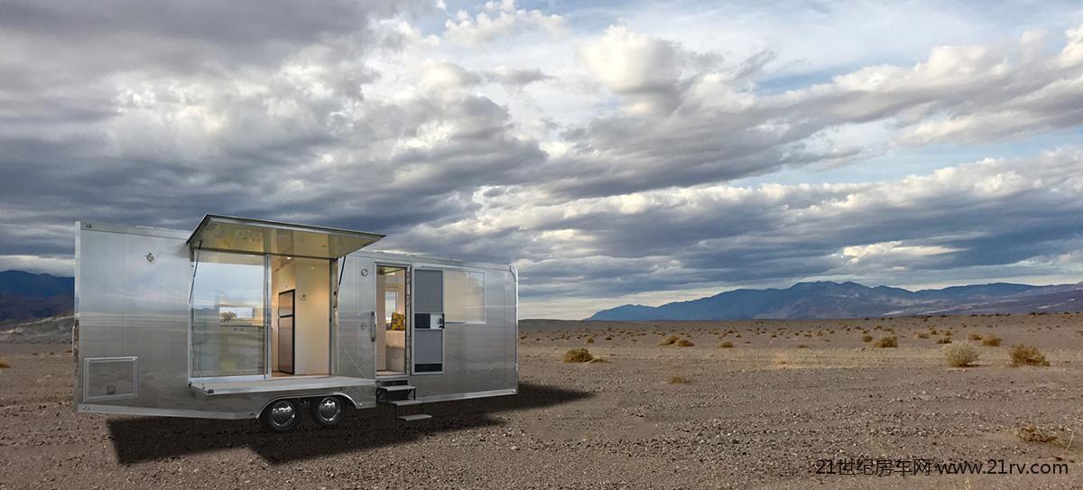 有了Living Vehicle房车 你可以与世隔绝两个月