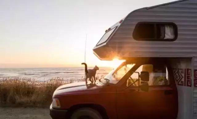 小情侣花5000元改造房车 跑遍50多个国家