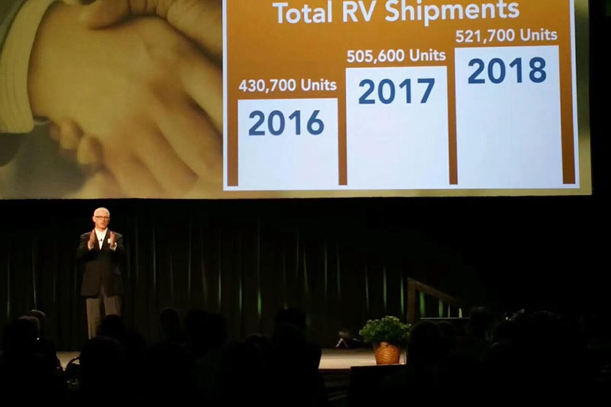 RVIA预测:2017年美国房车销量将超50万辆