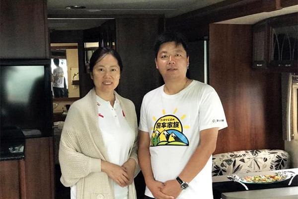 北京市丰台区副区长张婕莅临优发国际世界实地考察