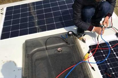 车友改装分享:房车太阳能电池板测试结果