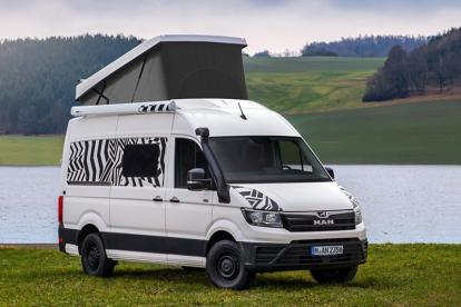 搭载2.0升柴油发动机 德国MAN推出两款轻型概念露营车