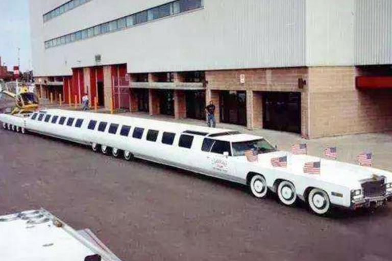 全世界最长房车 简直是移动版的五星级酒店