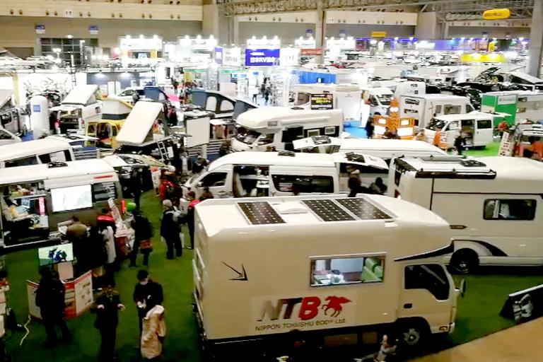 国内首播:直击2018年日本千叶房车展览会