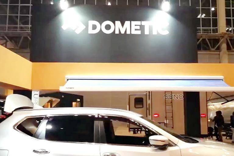 直击2018年日本千叶房车展览会-多美达展区
