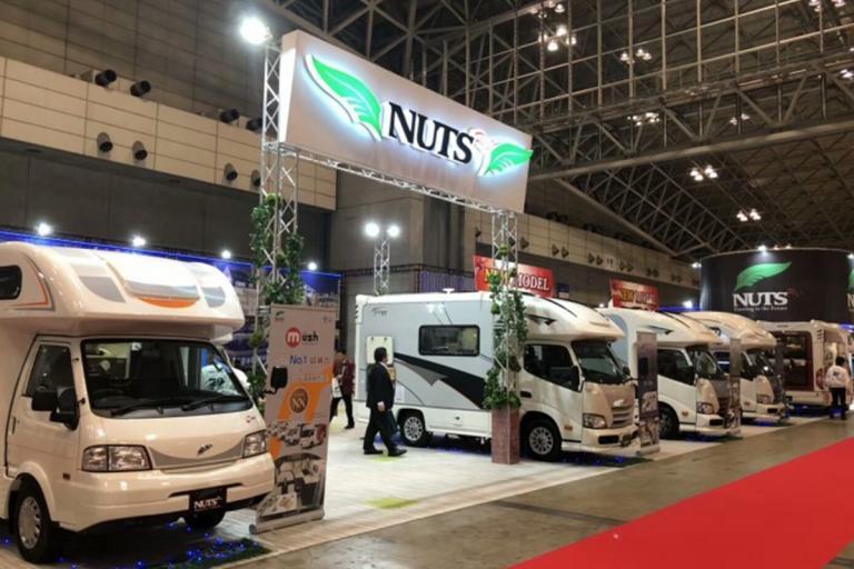 直击2018年日本千叶房车展览会―车型集锦