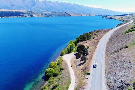 尽享自然美景—新西兰房车自驾之旅