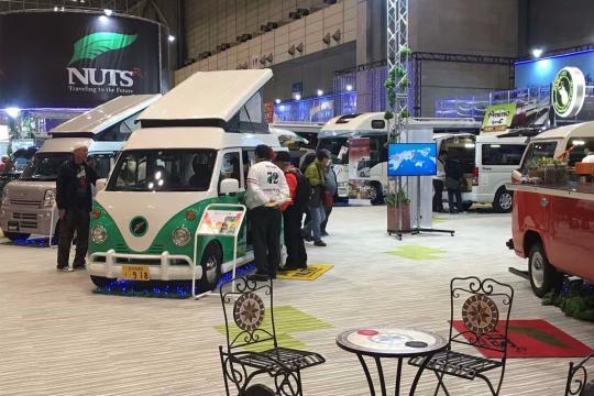 直击2018年日本千叶房车展览会―车型集锦(二)