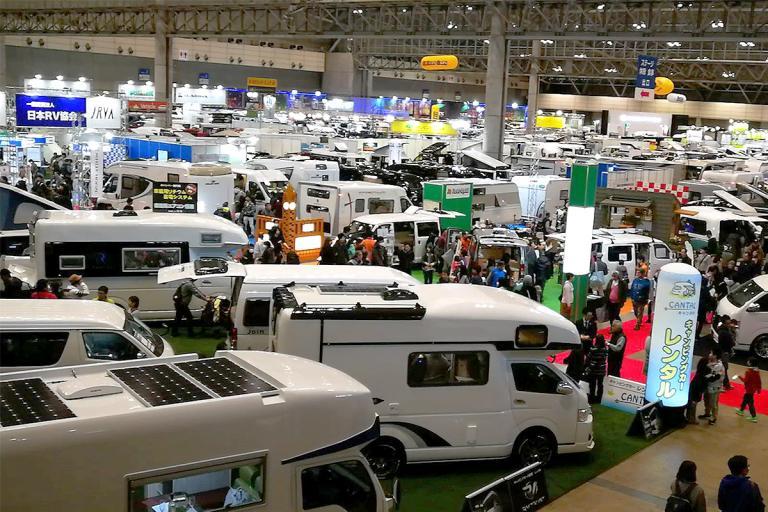 高清实拍:2018年日本千叶房车展览会 车型集锦