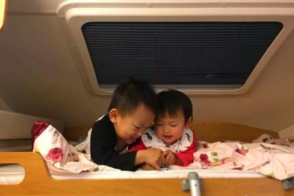 在房车旅行中生娃坐月子的辣妈 又开始了她的房车之旅