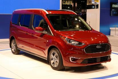 福特新款全顺Connect Wagon发布 将于秋季美国上市