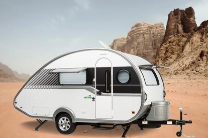 轻量化的典范 5款超轻拖挂房车帮你实现露营生活