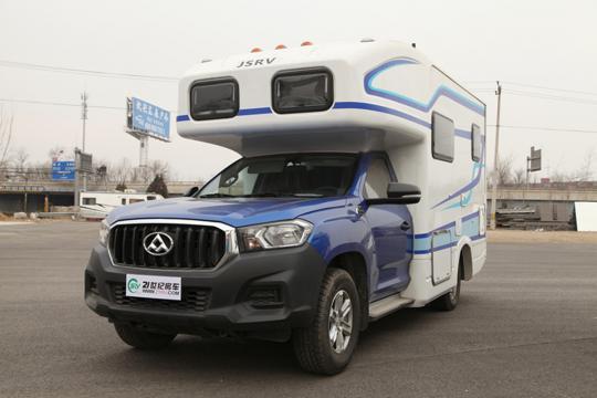 30.6万元起 极速GX599上汽大通T60单排皮卡房车