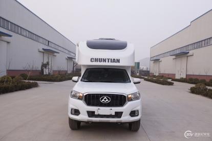 低至22.8万元 春田6款车型亮相北京房车露营展