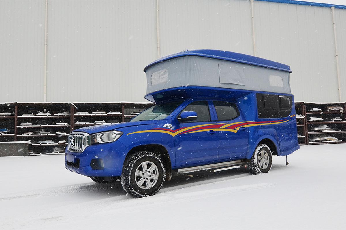 售31.5万 齐星全新皮卡房车在北京房车露营展发布